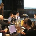 OXID Developer Meet-Up Leipzig 2011 - Christian Zacharias explains