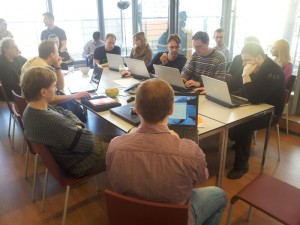OXID sprint review meeting